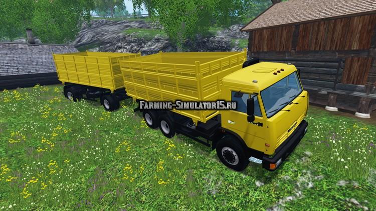 грузовики с прицепом скачать моды для фермера симулятора 2015 - фото 2