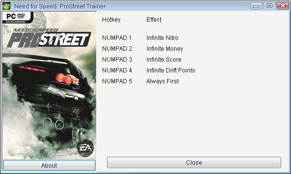 Читы для Nfs Pro