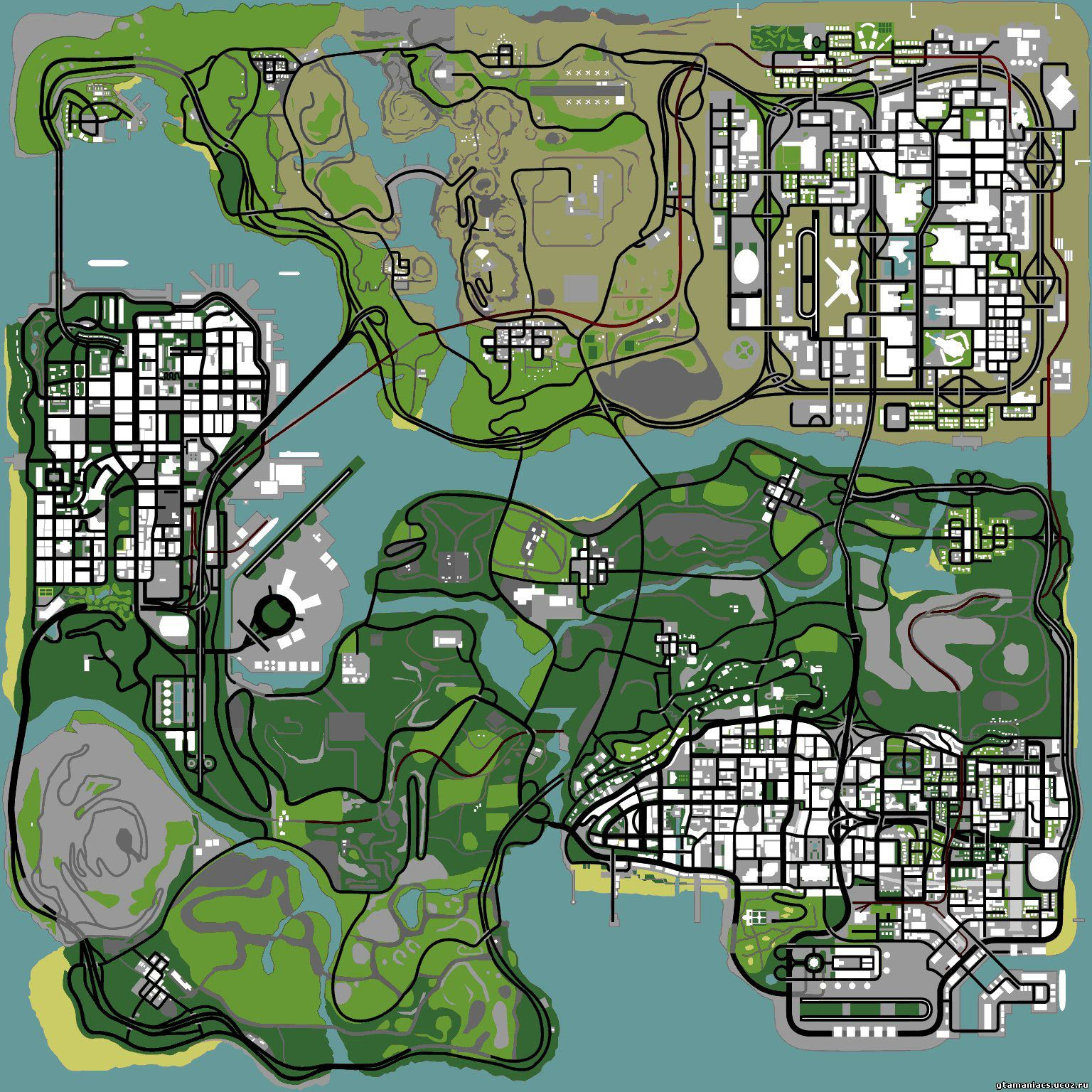 map of the grove in los angeles with Mapas E Informacion Para Gta San Andreas on 2936081022 further Glendale Map together with North Americas Most Productive Shopping Centres In 2013 further Lake Siljan Sweden Map likewise Outdoor Kitchens.