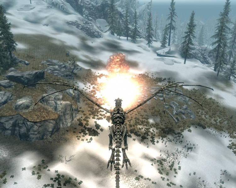Скачать Мод Превращение В Дракона Skyrim - фото 9